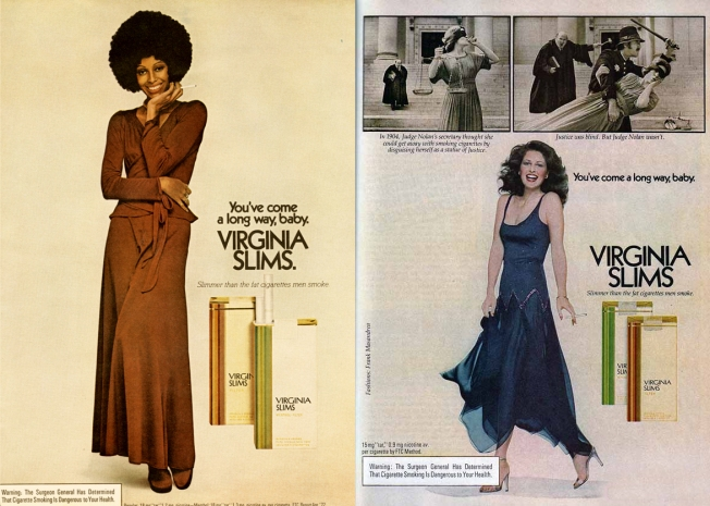 Virginia Slims Advertisement