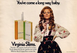 Virginia Super Slims Advertisement